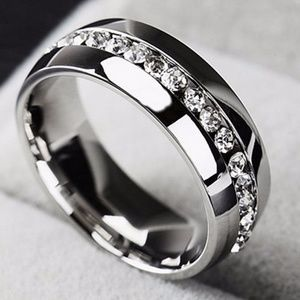 Other - Stainless Steel Wedding Engagement Silver Band 12